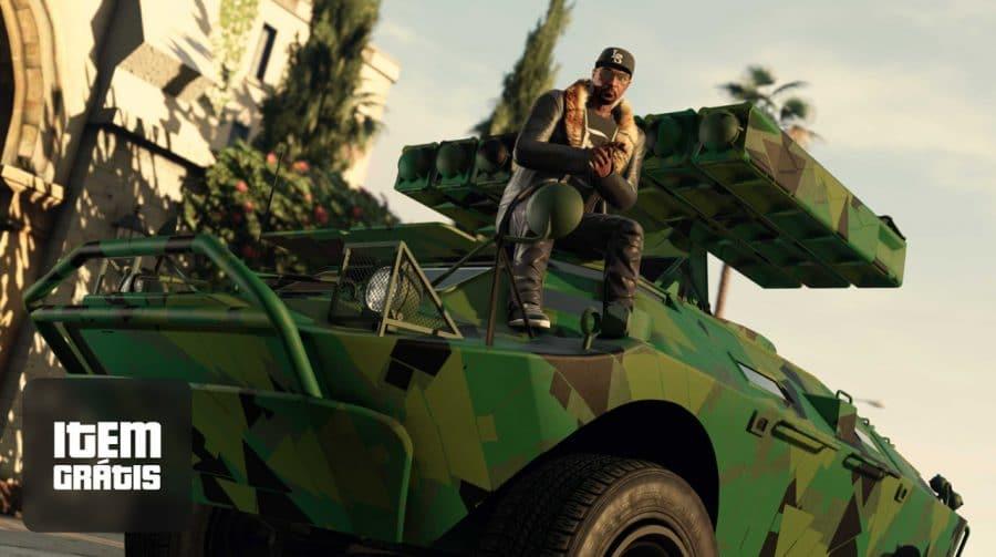 Rockstar oferece dois itens gratuitos e até o triplo de recompensas em GTA Online