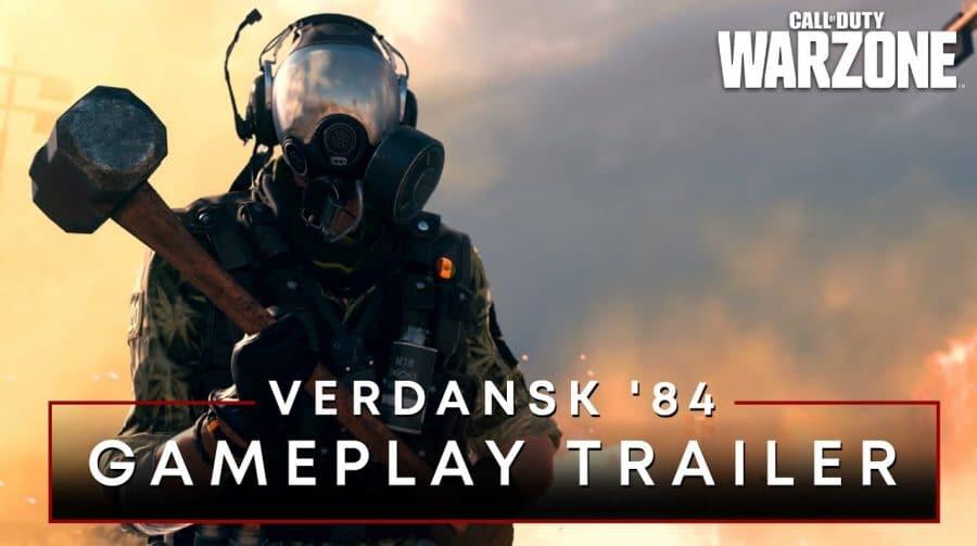 Warzone: Activision revela o mapa de Verdansk ambientado nos anos 80