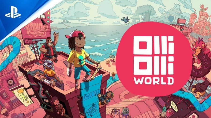 OlliOlli World é anunciado para PS4 e PS5 e chega no inverno