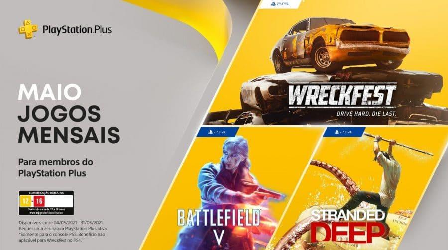 Não se esqueça! Hoje (31) é o último dia para baixar os jogos do PS Plus de maio