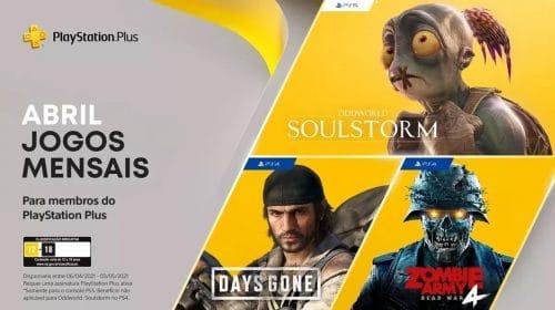 Games do PS Plus de abril já estão disponíveis para download