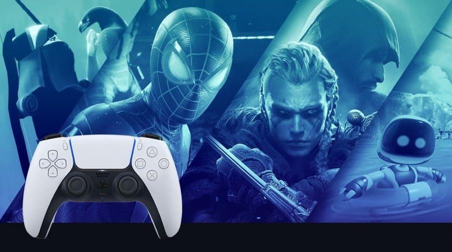 Lista ranqueia os 100 títulos de PS5 mais jogados em março