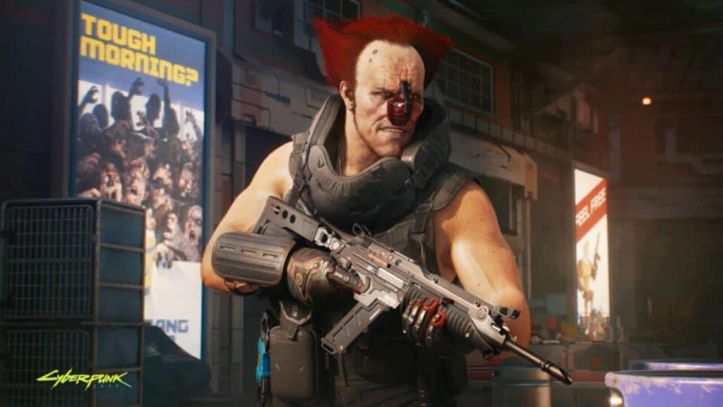 Personalização Cyberpunk 2077