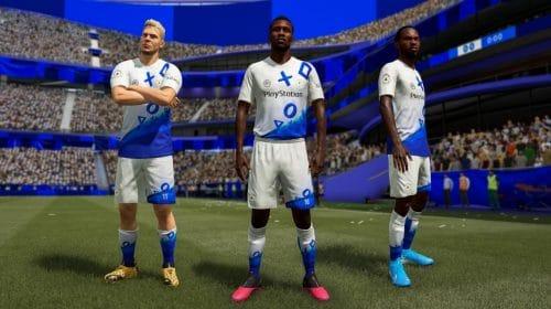 Uniforme do PlayStation FC está disponível no FUT de FIFA 21