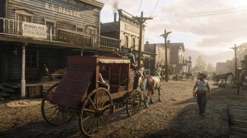 Bug em Red Dead Redemption 2 manda carruagem