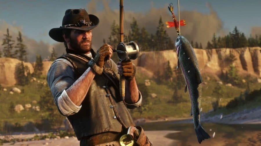 Jogador descobre segredo sobre peixes de Red Dead Redemption 2