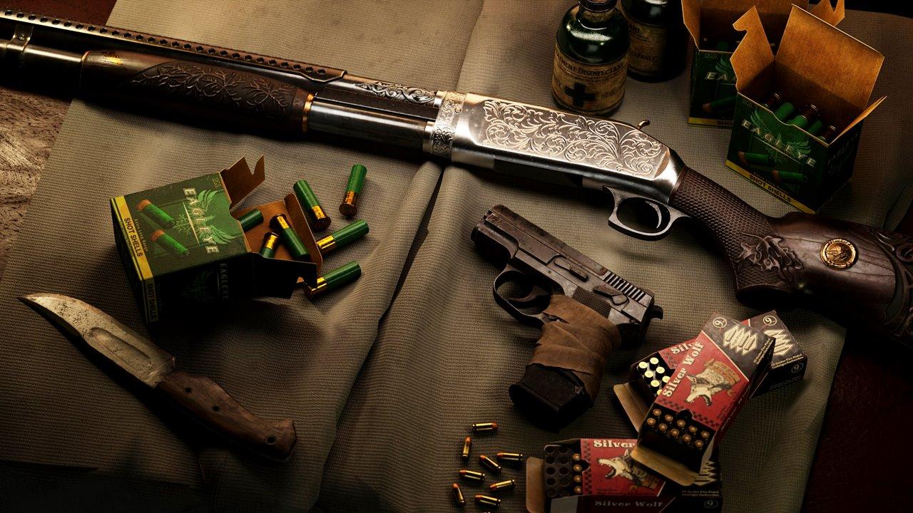 Arsenal de armas de Resident Evil Village