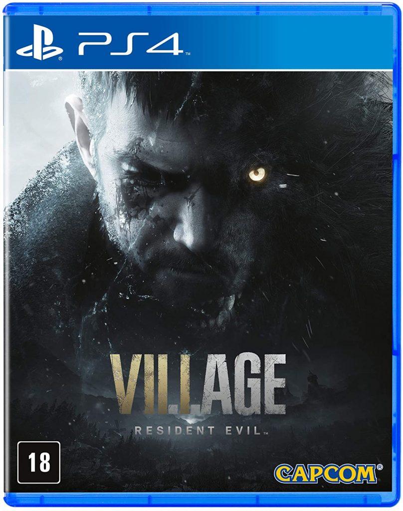 Capa do jogo Resident Evil Village PlayStation 4