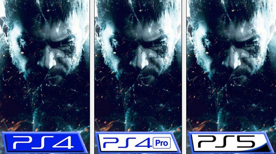 Vídeo compara o desempenho de Resident Evil Village no PS5, PS4 Pro e PS4