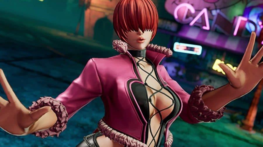 Shermie é mais uma lutadora confirmada em The King of Fighters XV