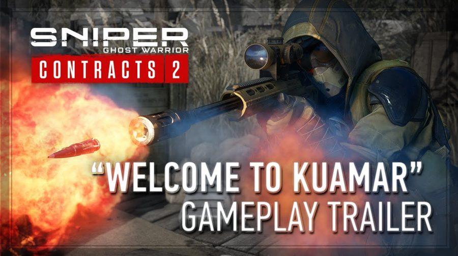 Trailer de Sniper Ghost Warrior Contracts 2 detalha o gameplay