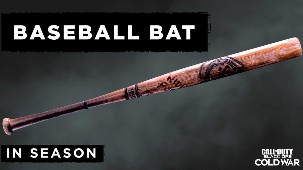 Imagem da arma de beisebol da 3ª temporada de Black Ops Cold War e Warzone