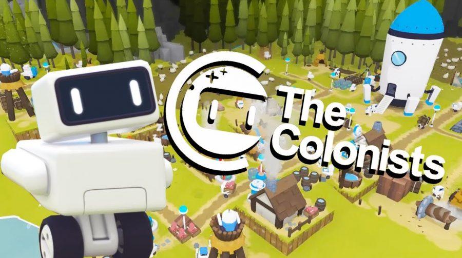 Robôs à Obra! The Colonists chega ao PS4 no dia 4 de maio de 2021