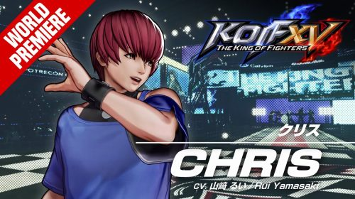 Chris é mais um lutador confirmado em The King of Fighters XV