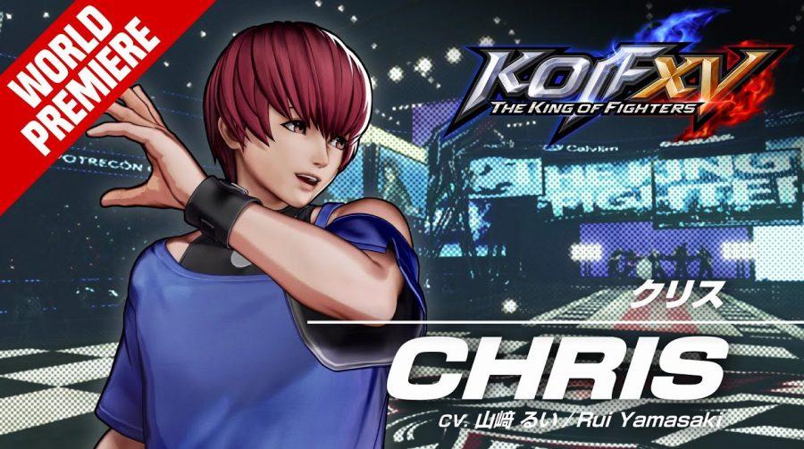 Chris é mais um lutador confirmado em The King of Fighters XV