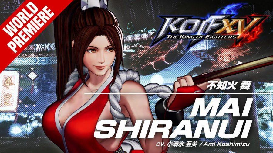 The King of Fighters XV: ninja Mai Shiranui é destaque em trailer