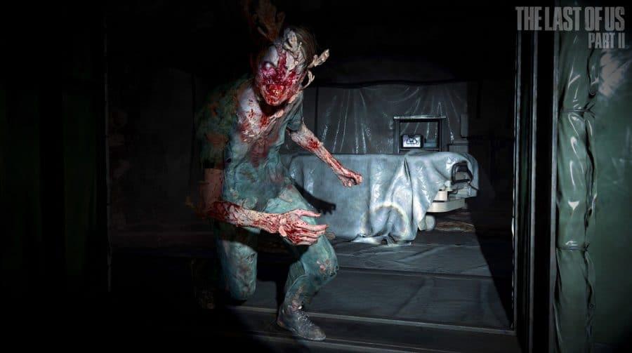 Se for rápida, Ellie consegue pegar o primeiro Stalker em The Last of Us Part II