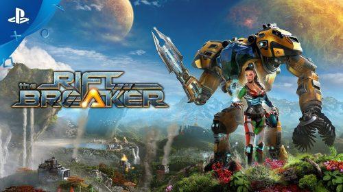 The Riftbreaker, jogo de sobrevivência e construção de bases, chega na primavera ao PS5