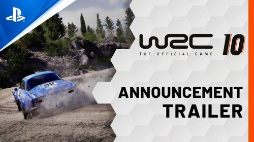 WRC 10 chega em setembro ao PlayStation 5 e ao PlayStation 4