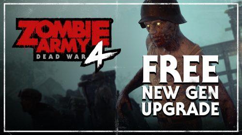 No PS Plus de abril, Zombie Army 4 recebe update gráfico para o PS5