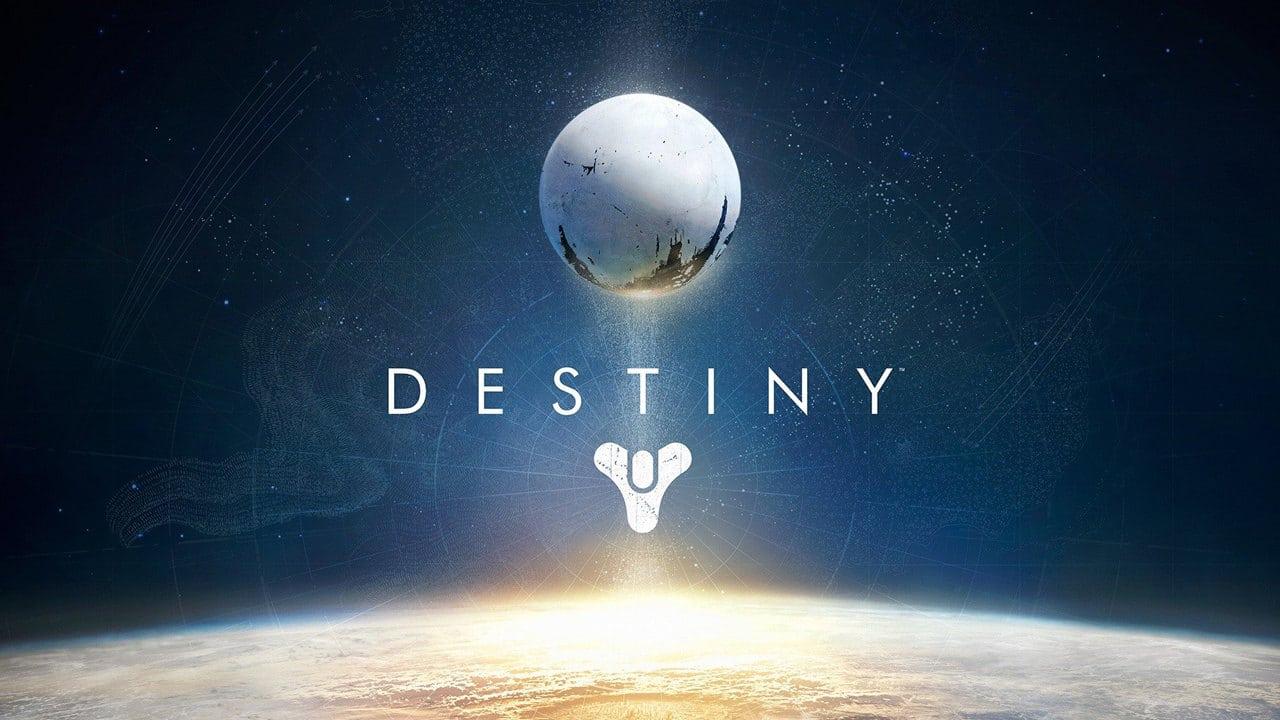 Imagem de capa com a logo do jogo Destiny, produzido por profissionais da próxima IP AAA multiplayer da Sony