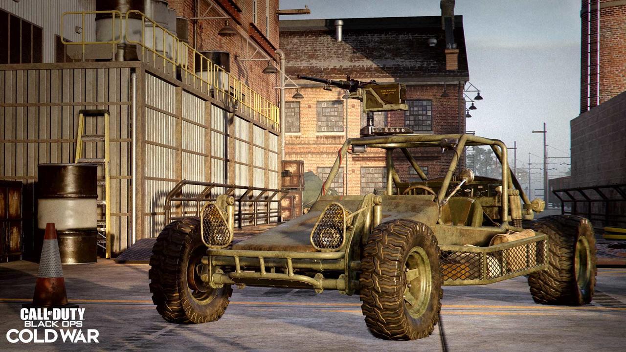Imagem do novo veículo do modo Epidemia na 3ª temporada de Black Ops Cold War e Warzone