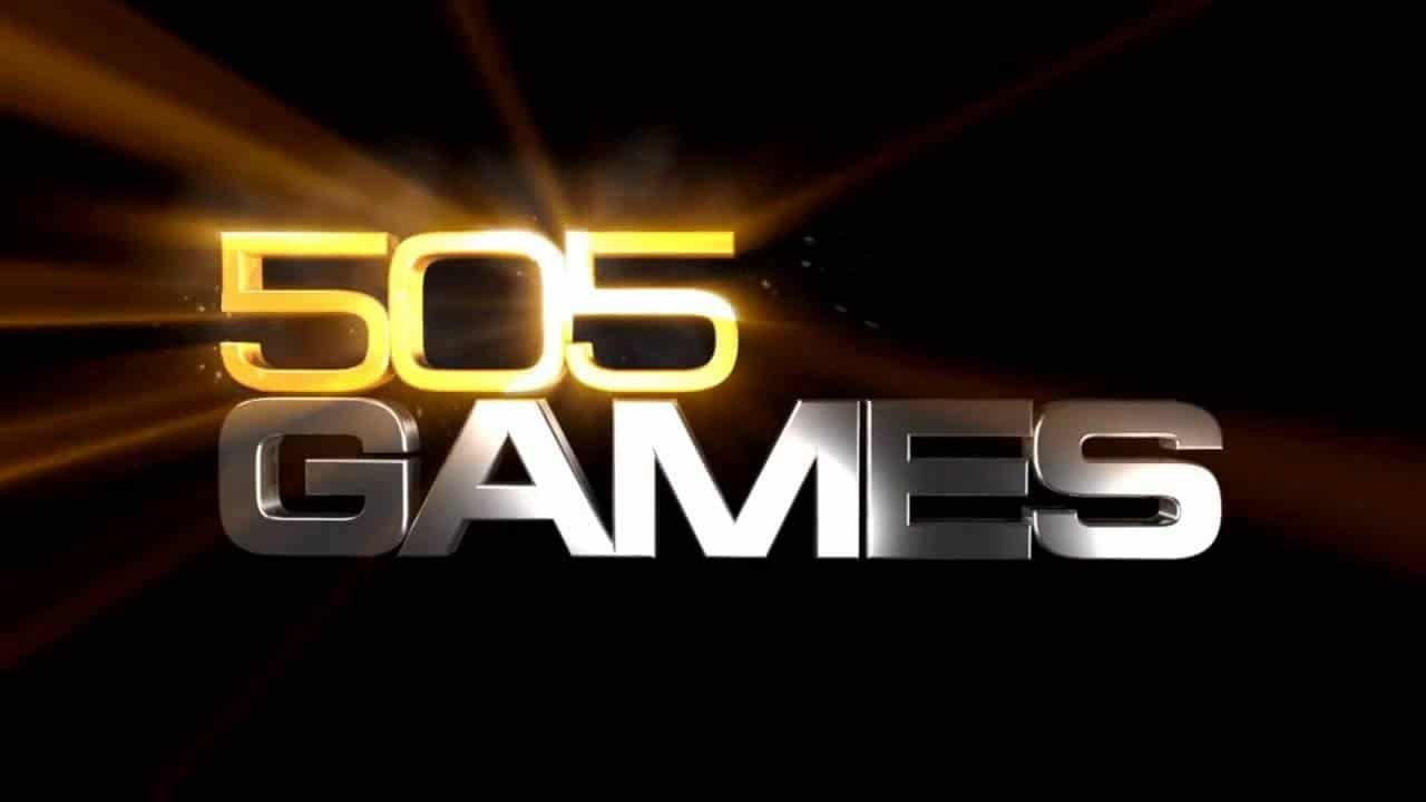 logo da 5050 Games com fundo preto e números dourados.