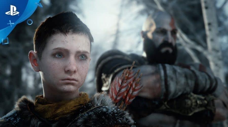 Novo God of War pode se inspirar em TLOU 2 e colocar Atreus como personagem jogável