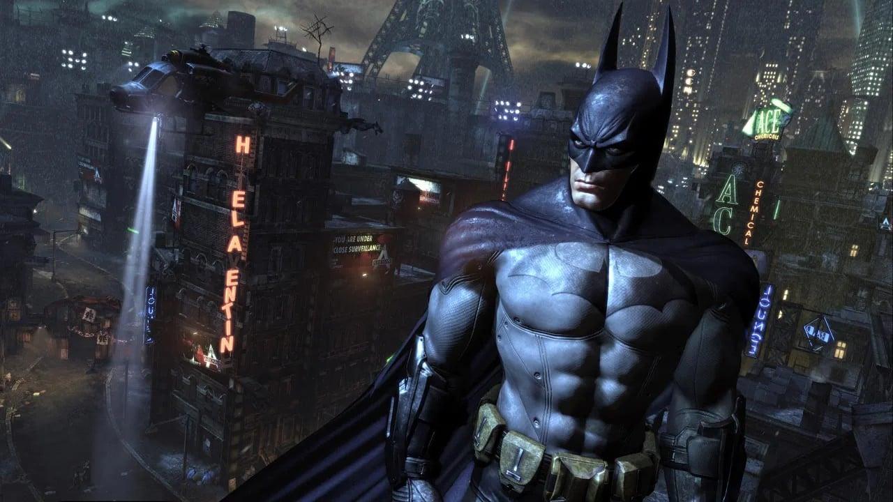 Batman Arkham City - top 10 jogos de mundo aberto do PlayStation