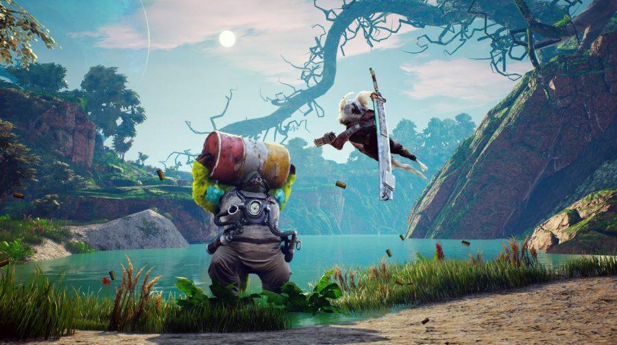Novo gameplay de BioMutant destaca combate e cenários