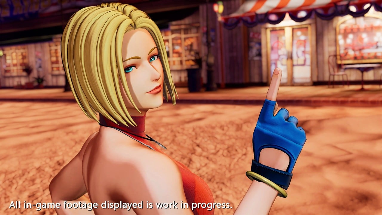Blue Mary, personagem de The King of Fighters XV