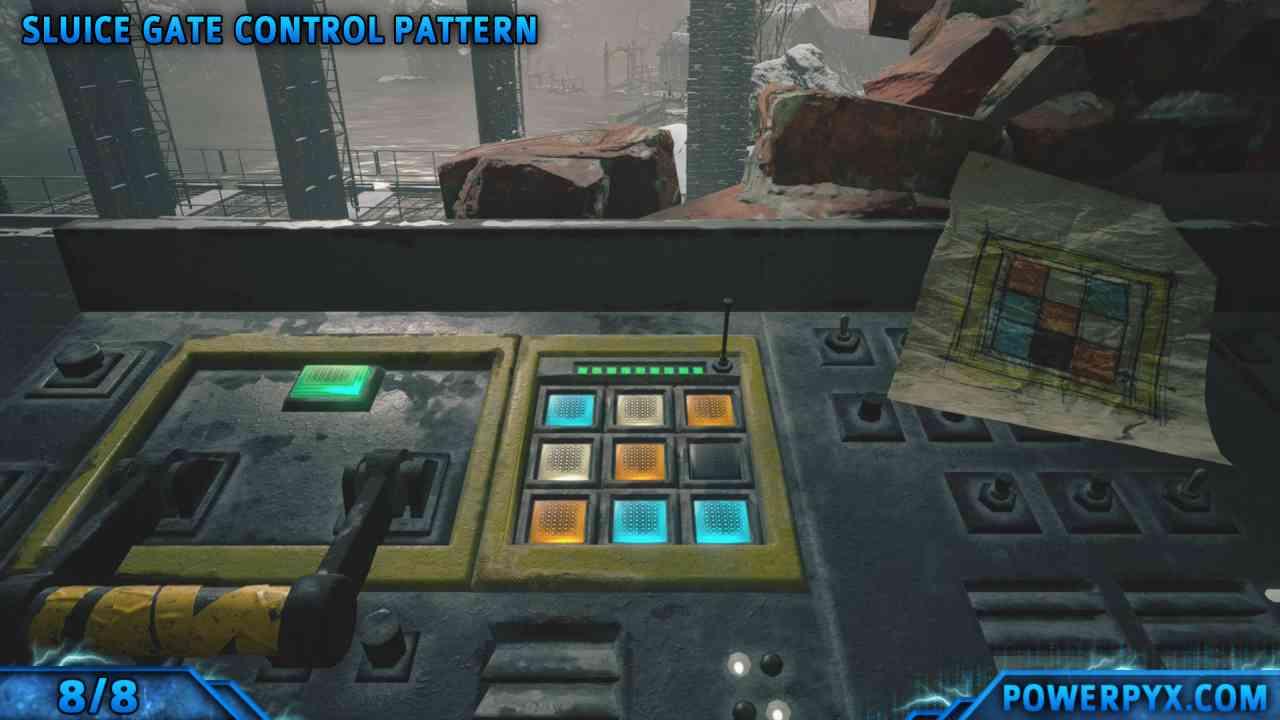 Imagem de capa de um painel de controle em Resident Evil Village