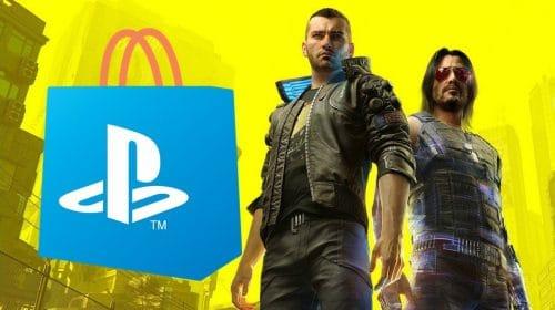 Aparentemente, Cyberpunk 2077 está voltando à PS Store
