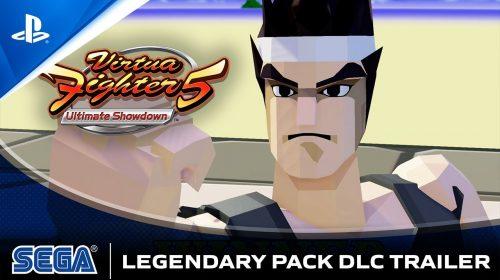 DLC pago de Virtua Fighter 5 terá modelos clássicos dos lutadores do jogo de 1993