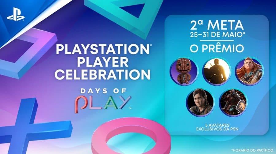Segundo desafio do Days of Play oferece 5 avatares exclusivos aos jogadores