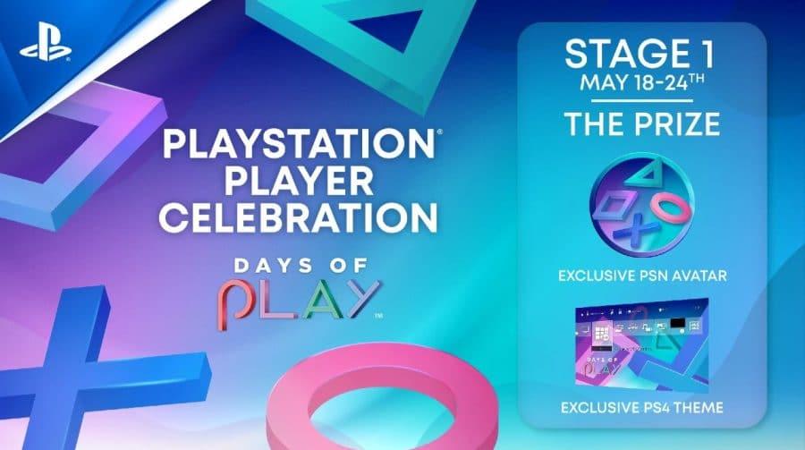 Days of Play: primeiro desafio oferece tema de PlayStation 4 e avatares