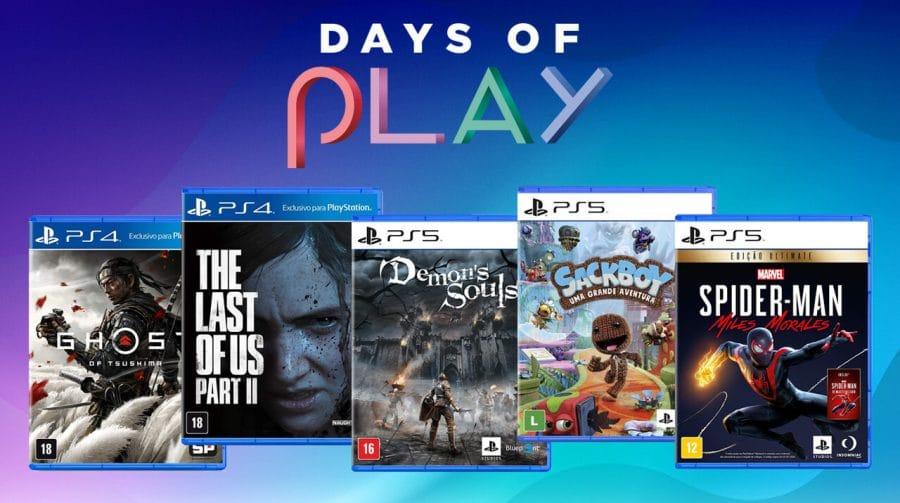 Days of Play: confira as ofertas de jogos em formato físico