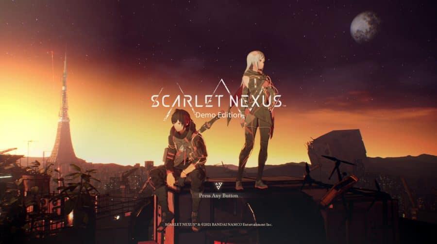 Demo de Scarlet Nexus é confirmada para o final de maio no PS4 e no PS5