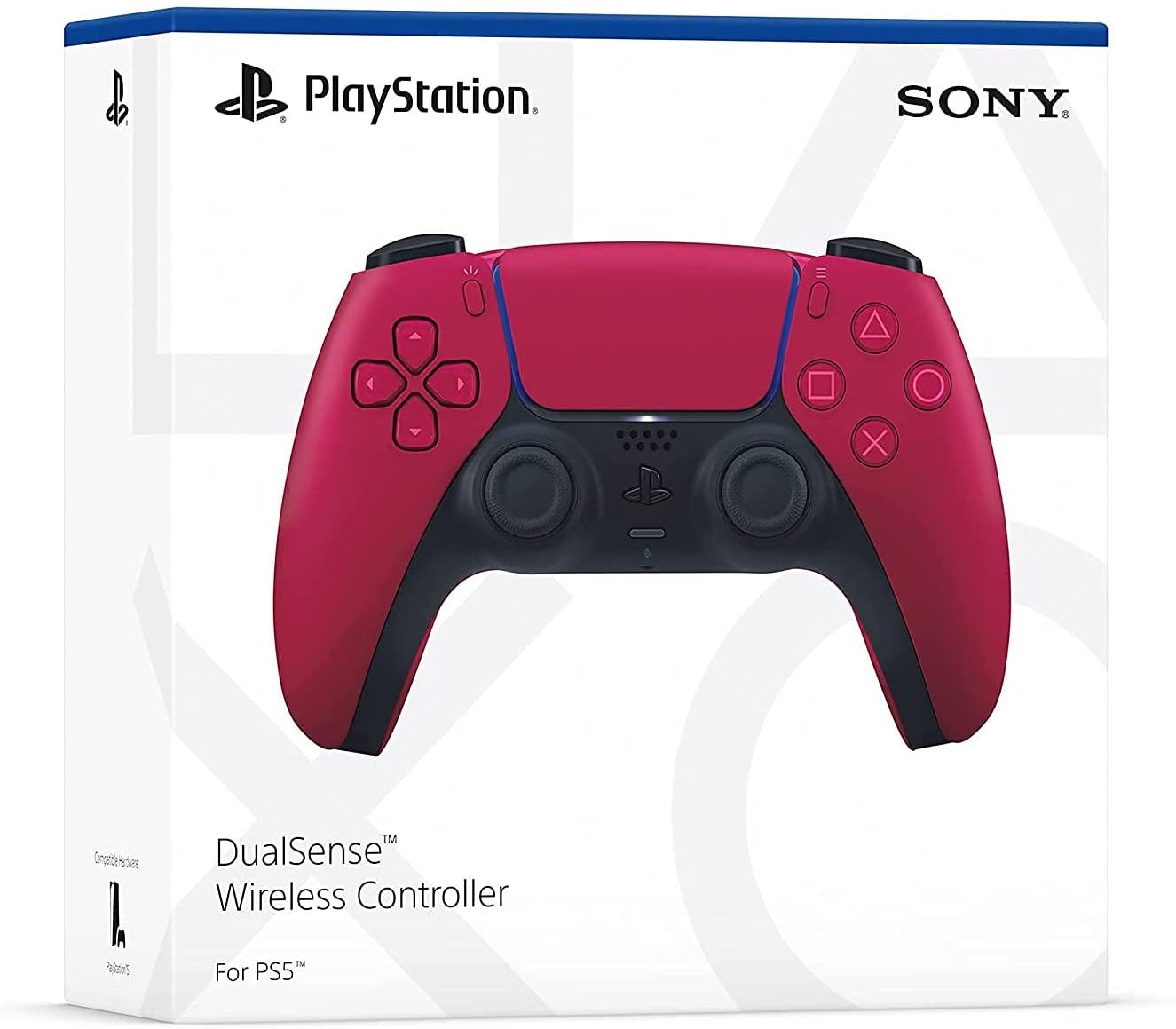 Controle sem fio DualSense Cosmic Red - PlayStation 5