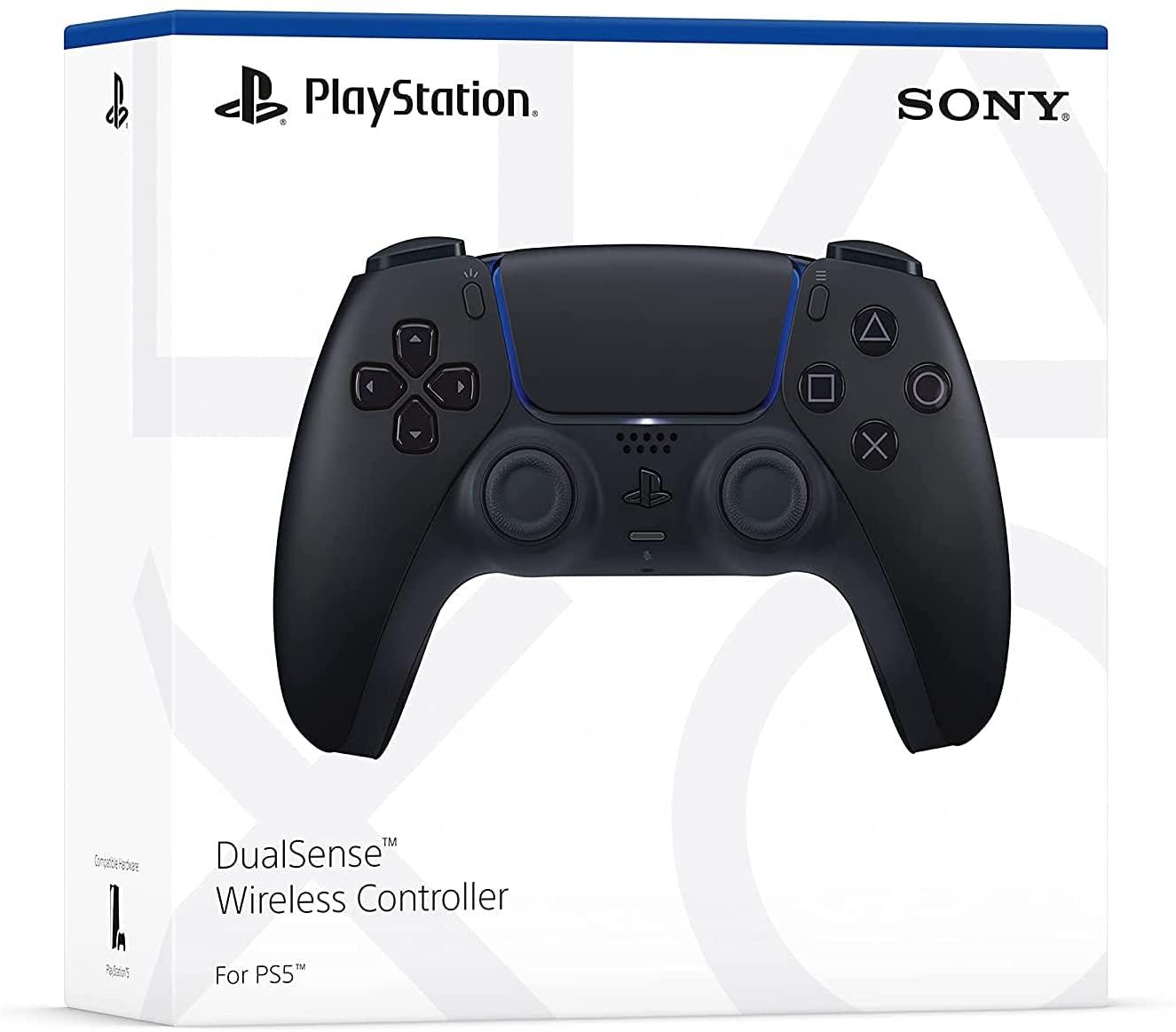 Controle sem fio DualSense Midnight Black - PlayStation 5