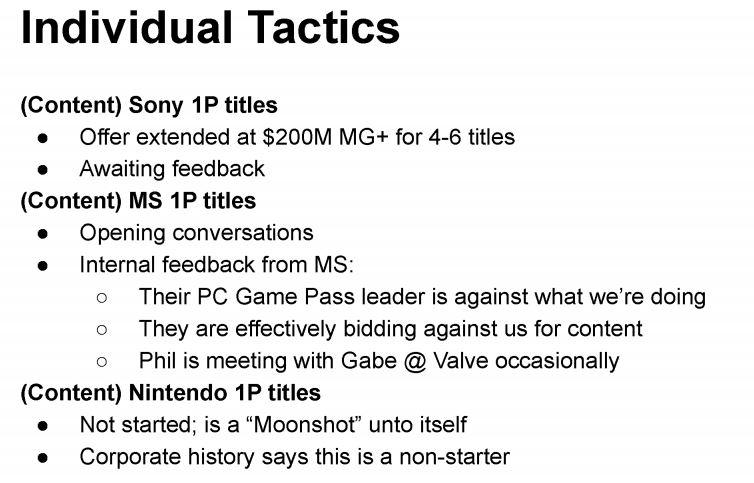 Documento da Epic Games