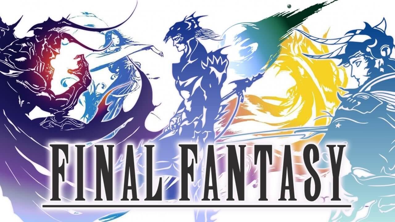 Imagem que mostra a logo da franquia Final Fantasy