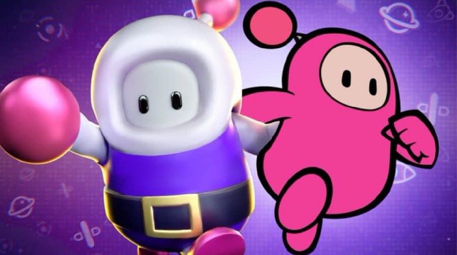 Surpreendendo zero pessoas, crossover entre Fall Guys e Bomberman é anunciado