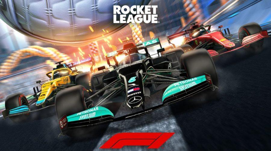 Fórmula 1 chega a Rocket League com carro clássico da categoria e item grátis
