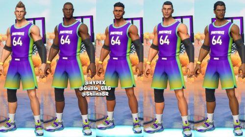 Skins da NBA em Fortnite surgem na internet e sugerem evento de verão