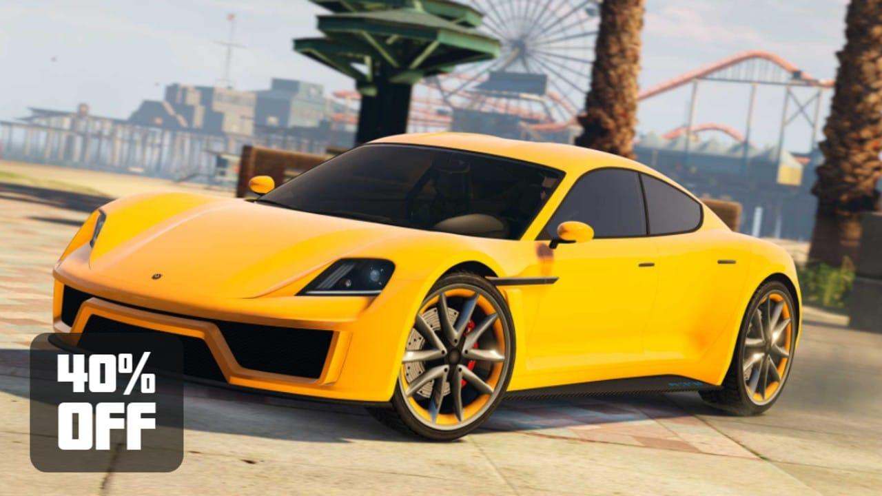 GTA Online - Desconto Carro 4