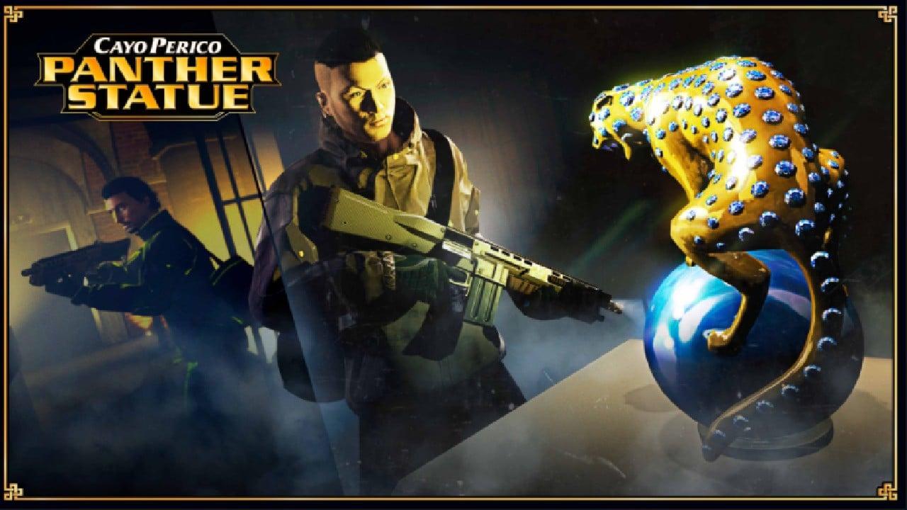 GTA Online - Estátua de Pantera