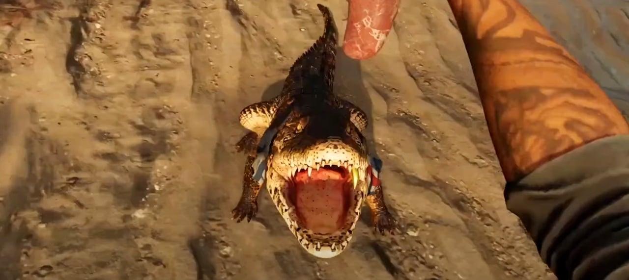 Jacaré do Gameplay de Far Cry 6