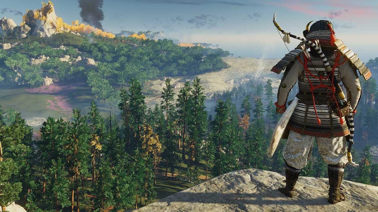 Ghost of Tsushima -top 10 jogos de mundo aberto do PlayStation