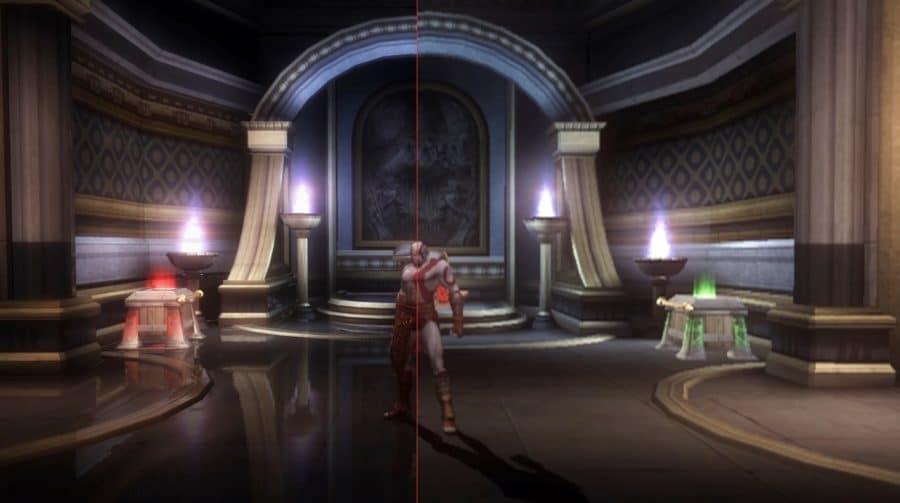Vídeo mostra como seria God of War 2 com resolução 4K e ray tracing